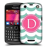Head Case Letter D Case Design Snap-on Back Case Cover For Blackberry Curve 9360