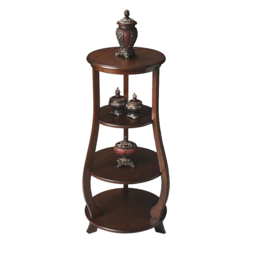 Butler Home Decor Etagere Finish Type - Light Nutmeg холодильник sharp sj pc58asl серебристый