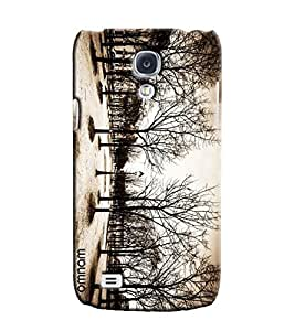 Omnam Disaster Of Nature Effect Printed Designer Back Case Samsung Galaxy S4