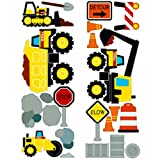 Tonka Construction Fun Time Wall Stickers