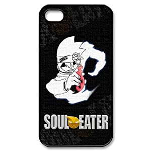 Protective Death the Kid Soul Eater Apple Iphone 4S/4 Case Cover Hard Plastic Japanese Manga Anime Comic Cartoon