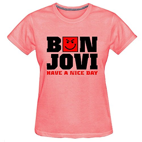 Chimpanzee Women's Bon Jovi Have A Nice Day