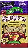 Three Dog Bakery Apple Oatmeal Itty Bitty Bones, Baked Dog Treats, 12-Ounce