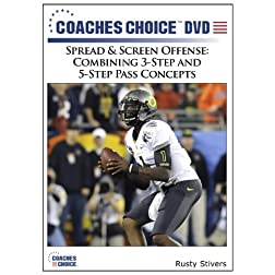 Spread & Screen Offense: Combining 3-Step and 5-Step Pass Concepts