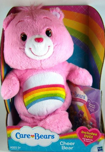 Care Bears Cheer Bear with DVD