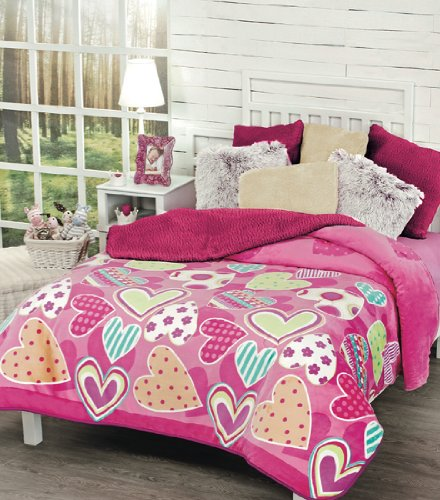 Siberia Collection Tiffany 1-Piece Warm Bed Blanket Ind/Twin front-1080059
