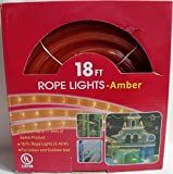 18 Ft Rope Lights- Amber