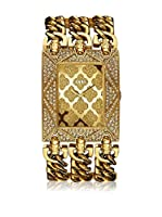 Guess Reloj de cuarzo Woman W0580L1 Dorado 39 mm