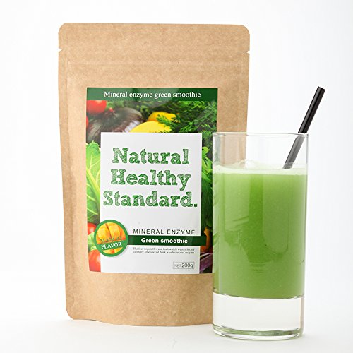 Mineral enzyme green Smoothie mango flavor diet enzyme drink