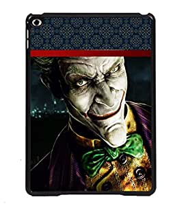 PRINTVISA Joker Premium Metallic Insert Back Case Cover for Apple IPad 5 - D5657