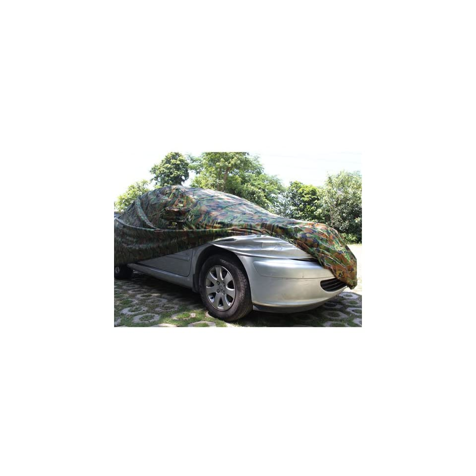 New Larkin Retardant Car Cover for Toyota Camry Camouflage and Silver 4806 x 1821 x 1471mm