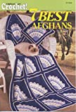 img - for 7 Best Afghans: Hooked on Crochet book / textbook / text book
