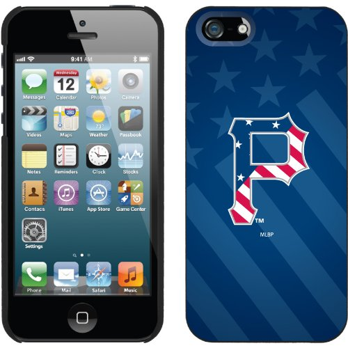 Best Price Pittsburgh Pirates - USA Blue design on a Black iPhone 5 Thinshield Snap-On Case by Coveroo