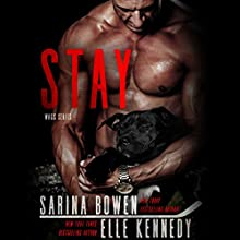 Stay Audiobook by Sarina Bowen, Elle Kennedy Narrated by Jacob Morgan, Lucy Rivers