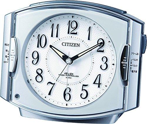 CITIZEN (シチズン) 目覚し時計 ネムリーナR411 電波時計 4RK411-019