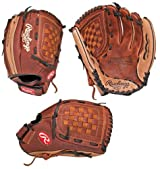 Rawlings R125R Renegade Series 12 1/2 inch Outfielder Baseball/Softball Glove