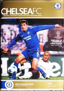 Chelsea FC V Liverpool FC MINT Programme UEFA Champions League 06-12-2005