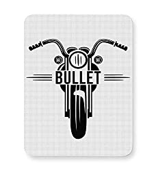 PosterGuy Mouse Pad - Bullet Motorycle Illustration | Designed by: Kickass Artworks
