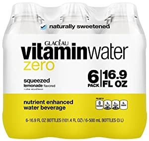 vitaminwater zero squeezed 6 ct, 16.9 FL OZ Bottle