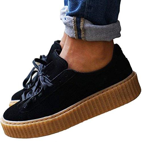 no brand ,  Sneaker Donna, Nero (nero), 39
