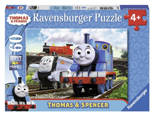 Ravensburger Thomas & Friends: Thomas and Spencer - Puzzle (60-Piece) - 1