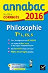 Annales Annabac 2016 Philosophie Tle...