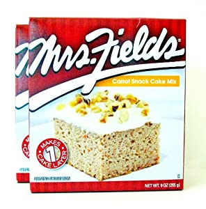 Mrs. Field's Carrot Snack Cake Mix