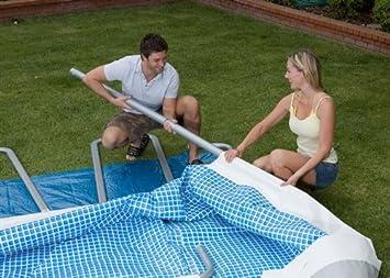 piscine tubulaire intex intex ultra silver x x x m jeux et jouets z246. Black Bedroom Furniture Sets. Home Design Ideas