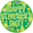 Creative Converting St. Patrick's Day Flashing Button, Happy St. Patrick's Day