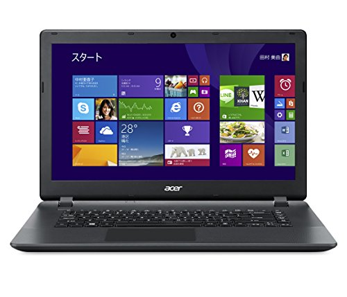 Acer ノートPC  Aspire E15 (Win8.1withBing(64bit)/15.6インチ/Celeron N2830/2GB/320G/Sマルチ/Office Personal 2013/ブラック) ES1-511-A12C/F