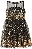 Ruby Rox Big Girls' Sequin Mesh Dress
