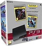 Console PS3 320 Go noire + GT5 - plat...