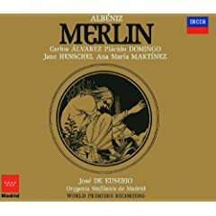 "Merlin - Opera in Three Acts - Revised: Jos� de Eusebio - Act 1 - Lo! ""Excalibur"" inlaid"