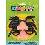 Mustache Disguise Groucho Nose and Glasses, 4ct
