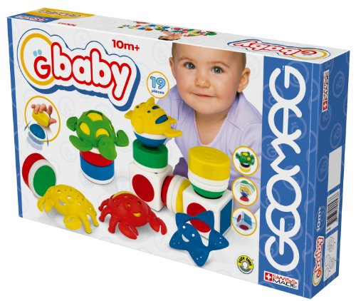 Geomag GBaby Baby Sea - 19 pieces