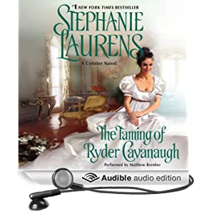 The Taming of Ryder Cavanaugh: A Cynster Novel, Book 20 (Unabridged)