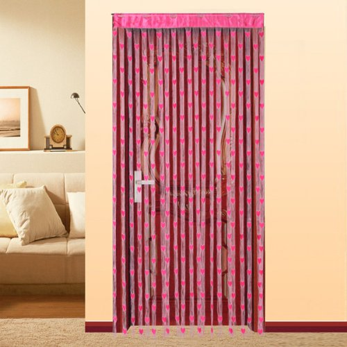 Tenda a fili tenda per porta decorazioni interni casa fucsia - Decorazioni interni casa ...