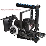 Eimo Spider Rig DR-2 Stabilisateur support épaule pour caméra de cinéma BMPP Blackmagic/appareils photo reflex numériques et caméscopes Sony/Nikon/Canon/autres
