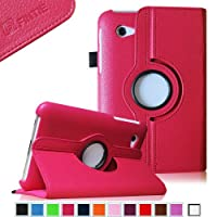 Fintie (Magenta) 360 Degrees Rotating Stand Case Cover For Samsung Galaxy Tab 2 7.0 Inch Tablet -- Multiple Color...