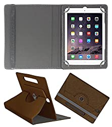 Acm Designer Rotating Case For Apple Ipad Air 1 Stand Cover Brown