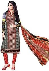 Shivani Women's Cotton Dress Material (Multicolor)