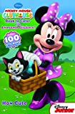 Minnie Mouse How Cute: Book to Color with Awesome Stickers