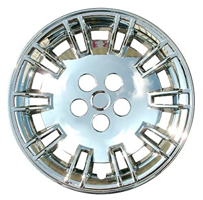 CCI IWC427-17C 17 Inch Bolt On Chrome Finish Hubcaps - Pack of 4