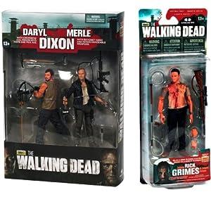 "Amazon.com: Walking Dead TV Merle & Daryl Dixon 5"" Action Figures 2"