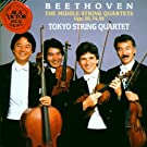 Beethoven: The Middle String Quartets, Op. 59, 74, 95