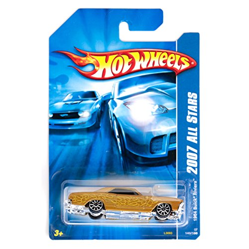 mattel hot wheels 2007 all stars GOLD 1964 buick riviera 140/180 2006
