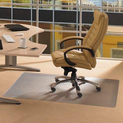 "Cleartex Advantagemat High Pile Carpet Chair Mat Size: 48"" X 60"", Lip: Included front-203265"