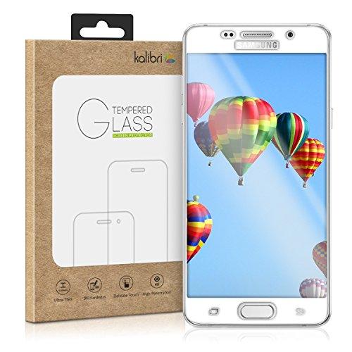 kalibri-Echtglas-Displayschutz-fr-Samsung-Galaxy-A5-2016-3D-Curved-Full-Cover-Screen-Protector-mit-Rahmen-in-Wei