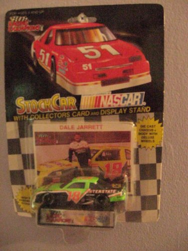 1992 Edition Racing Champions 1/64 scale diecast replica stock car with collectors card #18 Dale Jarrett - 1