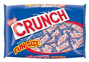 Nestle Crunch Funsize, 11.5-Ounce Bags (Pack of 6)